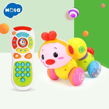 baby toys crawling insect toy combination music phone phone children toddler 6 months 0-1 years old baby toys for 2 month old