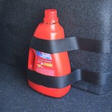 4 Pcs/set Car fire extinguisher strap Nylon Belt for Subaru Forester Outback Legacy Impreza XV BRZ Tribeca Trezia