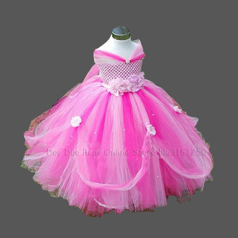 High quality fashion baby pageant dress tutu princess pink for Infant dresses for weddings