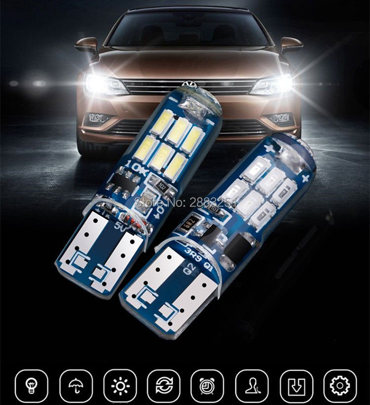 car LED Signal <font><b>Lamp</b></font>(super bright) Clearance Lights(Burst flash) for BUICK <font><b>PEUGEOT</b></font> 301 306 307 308 406 <font><b>407</b></font> 408 car Lights refit image
