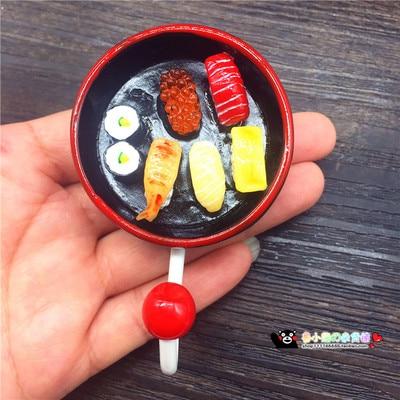 Simulation Cuisine 3D. D Fridge Magnet Bread Food Series