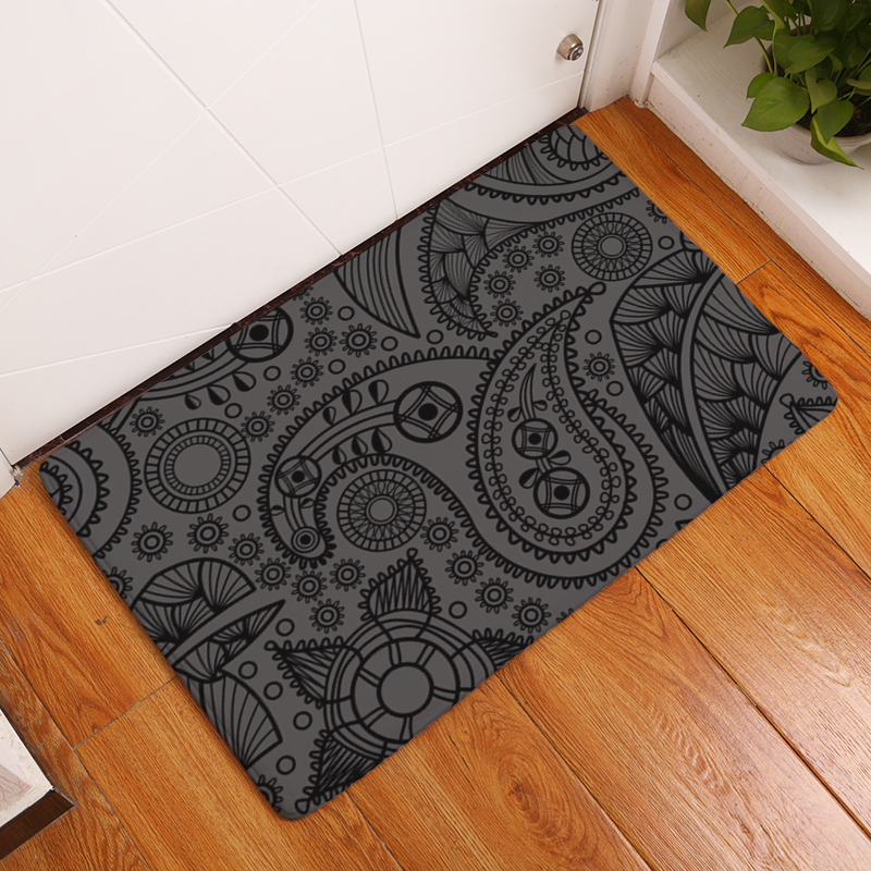 Hot Sale 2017 New Geometry Print Carpets Non-slip Kitchen Rugs for ...