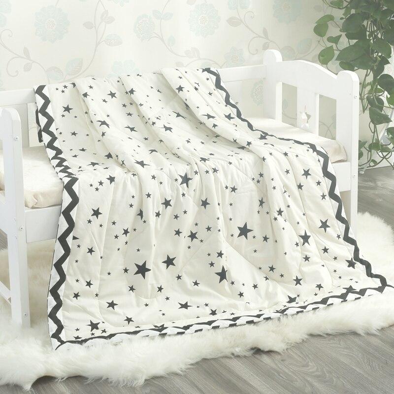 120*150 cm enfants pur coton couette climatisation par nourrissons maternelle étudiants coton couette, bébé couverture d'été