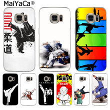 MaiYaCa Janpan Judo New Arrival Fashion phone case cover for Samsung S3 S4 S5 S6 S6edge S6plus S7 S7edge S8 S8plus(China)