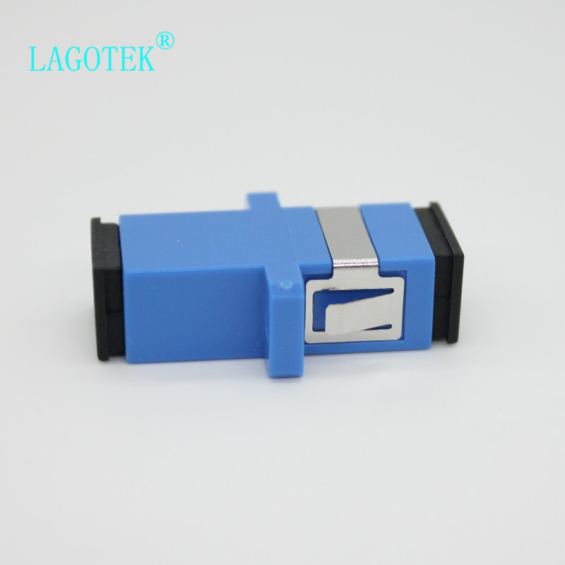 Image 3 - 50/100/200/500pcs  SC UPC Simplex Single mode Fiber optic Adapter SC Optical fiber coupler SC UPC Fiber flange SC connector-in Fiber Optic Equipments from Cellphones & Telecommunications