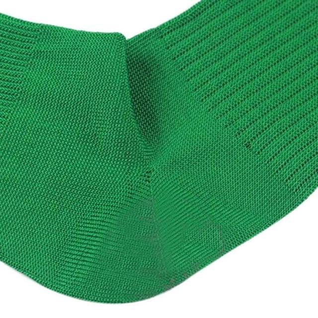 Men's Sports Baseball Hockey Soccer Socks Long High Sock (green)