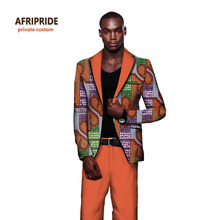 купить 2017 New Men Suits Slim Custom AFRIPRIDE african clothing Fit Jackets+Pants Fashion Business Dress Wedding Suits Blazer A731606 дешево