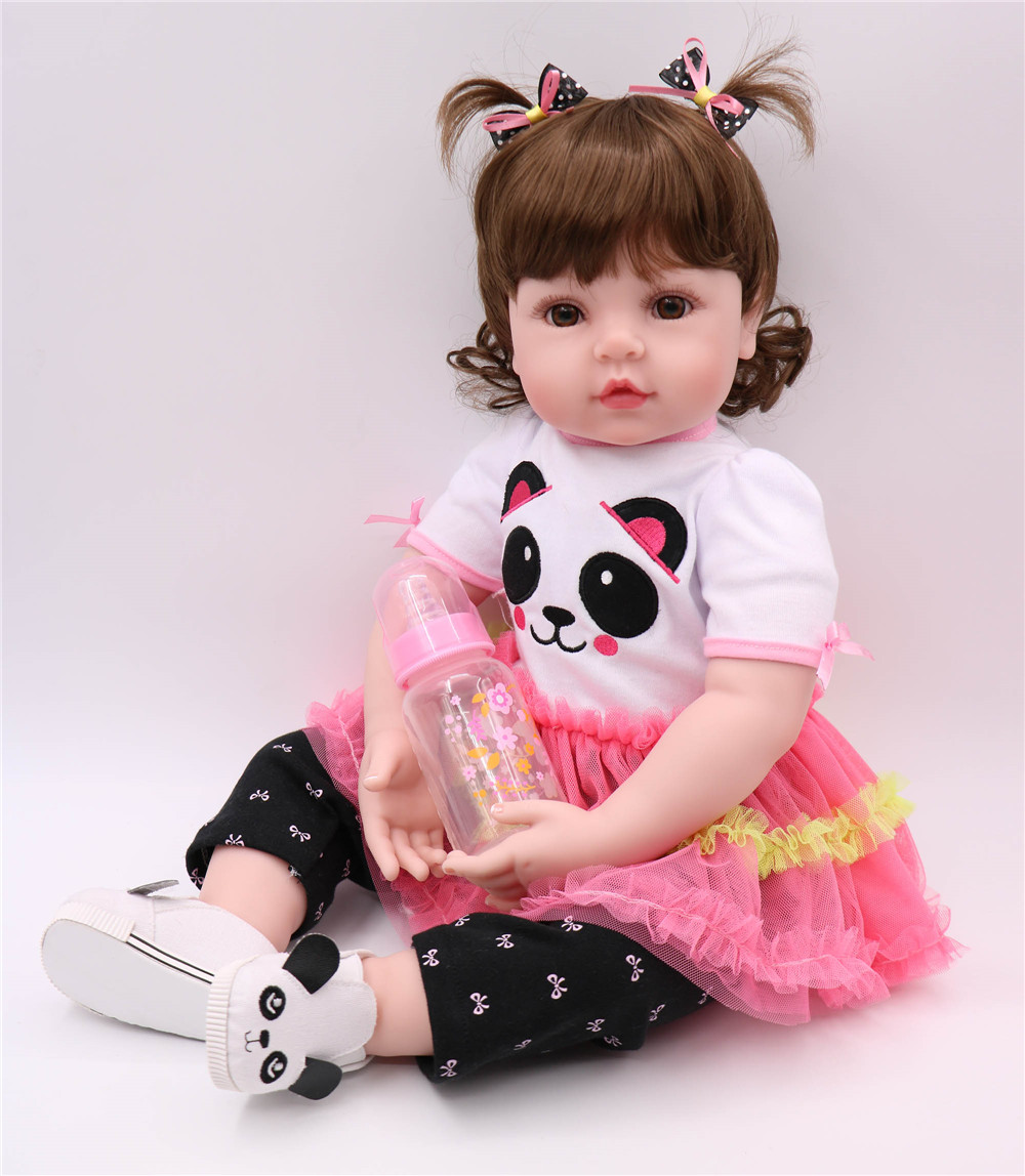 Bebe Doll Reborn 24inch large girl toddler silicone baby reborn dolls toys for child birthday gift play house toys boneca rebornBebe Doll Reborn 24inch large girl toddler silicone baby reborn dolls toys for child birthday gift play house toys boneca reborn