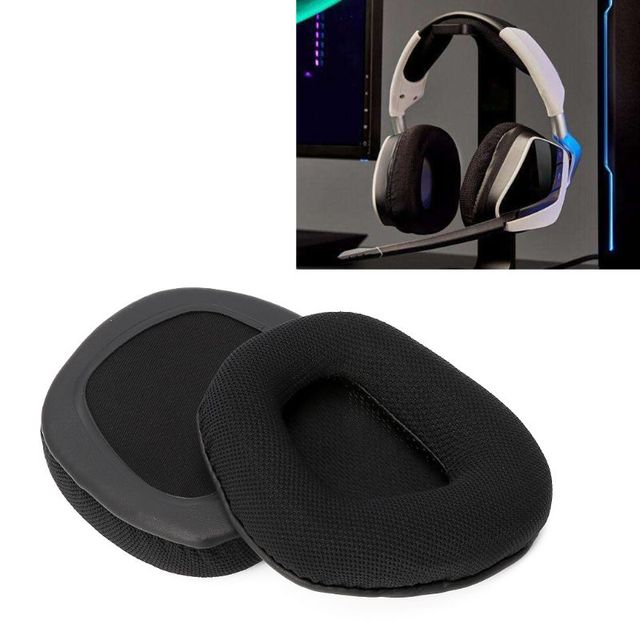US $5 31 18% OFF|Replacement Fabric Earpad for Corsair VOID PRO RGB Gaming  Headset 7 1 Headphone-in Earphone Accessories from Consumer Electronics on