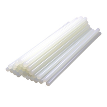 30Pcs/Sets 7mm x 100mm Hot Melt Gun Glue Sticks Plastic Transparent Sticks for Glue Gun Home Power Tool Accessories 50pcs set 7mm x190mm transparent hot melt gun glue sticks gun adhesive diy tools for hot melt glue gun repair alloy accessories