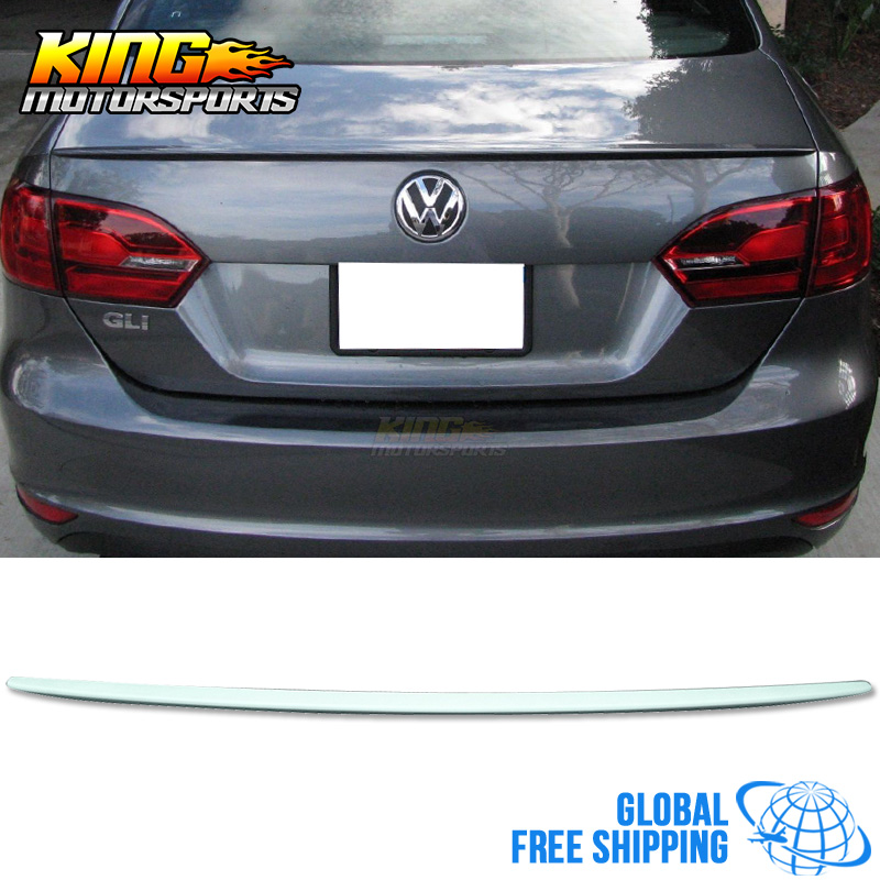 For 11-15 VW Jetta OE Factory Style Flush Mount Trunk Spoiler Global Free Shipping Worldwide free shipping original 0258007227 17014 0258007351 0258007057 fits for 99 05 vw jetta 1 8l l4 oxygen sensor front upstream