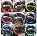 2016 Steering Wheel cover for Audi A4 B5 B6 B8 A6 C5 A3 A5 Q5 E46 E39 E90 E36 E60 E34 E30 F30 F10 X5 E53 Accessories Q7 for BMW