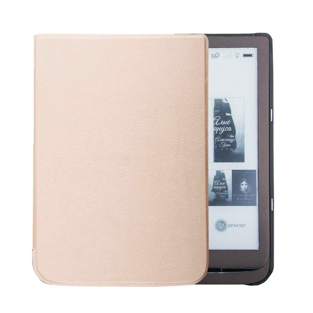Ultra Slim Case for PocketBook 740 InkPad 3 ereader 7.8 inch ebook Stand Cover+gift roland ink pump motor for fj 740 sj 740 xj 740 xc 540 rs 640 103 593 1041 22435106