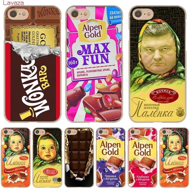 Lavaza Аленка крючок с изображением шоколада wonka жесткий чехол для телефона для Apple iPhone 6 6S 7 8 плюс 4 4S 5 5S SE 5C крышка для iPhone XS Max XR случае
