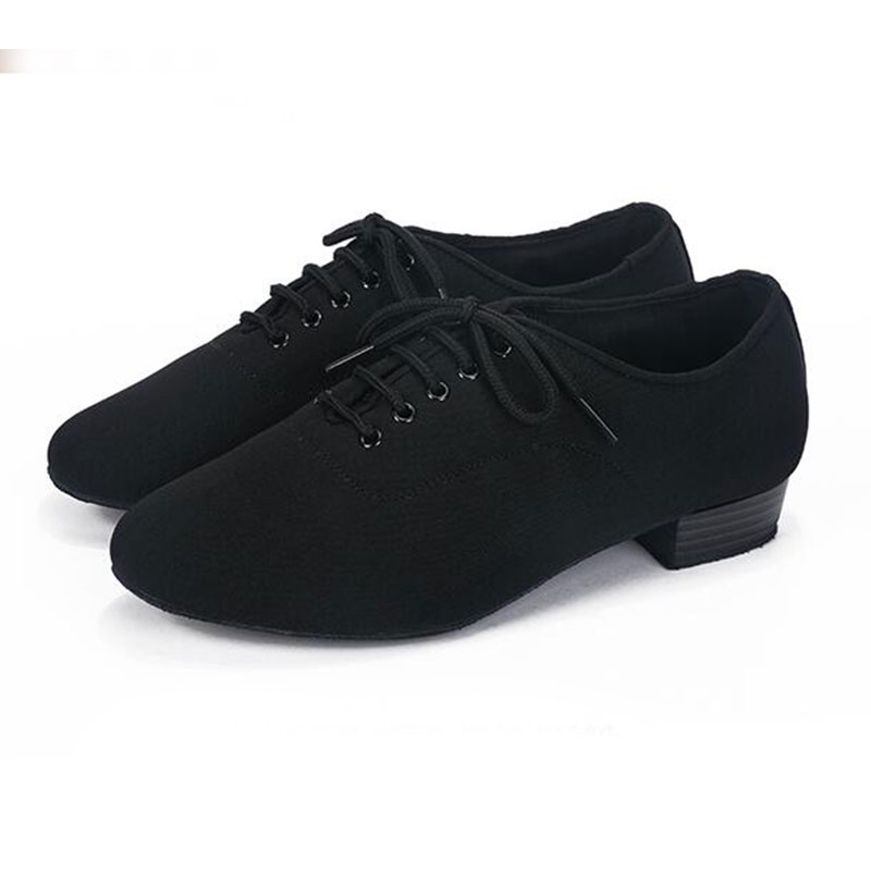 New Arrival Adults Mens Low Heeled 3cm Ballroom Party Latin Tango Rumba Dance Shoes Soft Practice Dancing Shoes Indoor