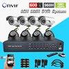 8Ch IR Surveillance CCTV Camera Kit Home Security Network HDMI 1080P DVR NVR Video Recorder Cctv