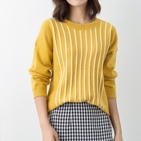DSANNINGT Soft Cashmere Elastic Sweaters and Pullovers for Women Autumn Winter Sweater 2XL O Neck Female Wool Knitted Brand Tops
