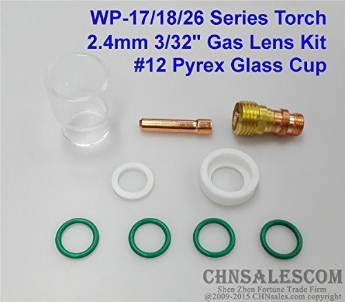 Kit Welding Accessories TIG #12 Pyrex Cup For Tig WP-17//18//26 Part Useful
