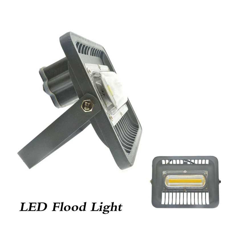 LED Flood Light Projector IP66 WaterProof 30W 50W 220V 230V 240V LED FloodLight Spotlight Outdoor Wall Lamp