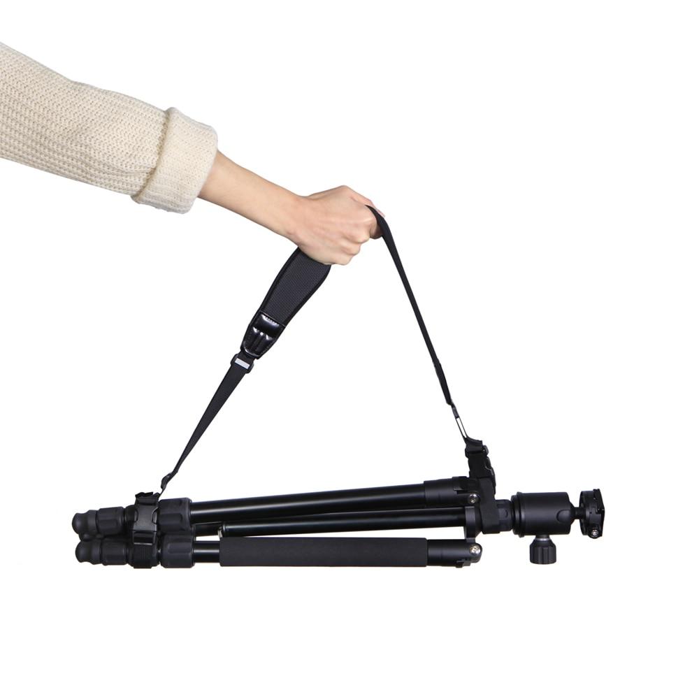 Adjustable Quick Release Buckle Tripod Monopod Shoulder Strap Light Stand Suspender Carrying Belt for Photo Studio kits