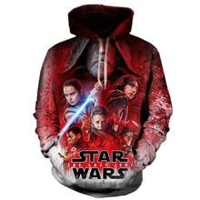 The Last Jedi 3d Printed Hoodie