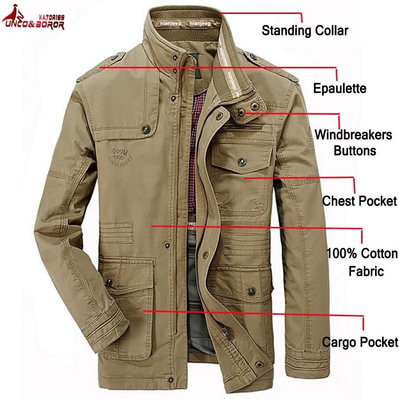 plus size 6XL 7XL 8XL 100 cotton Jackets Men Military Cargo Jackets Tactical Combat Business male Innrech Market.com