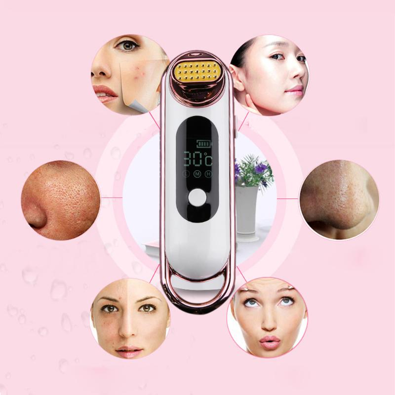 Face Massager RF Beauty Device Facial Skin Rejuvenation Lifting Wrinkle Removal RF Anti-Wrinkle Face Beauty Instrument купить недорого в Москве
