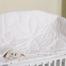 Детский плед хлопок Стёганое одеяло постельные принадлежности чистый белый детская колыбель одеяло s постельное белье дышащая мягкая BWZ010