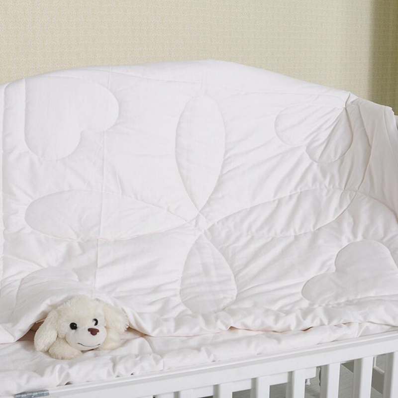 Children Quilt Cotton cotton  quilt core Bedding Pure white baby Cot Crib quilts bedclothes Breathable soft BWZ010