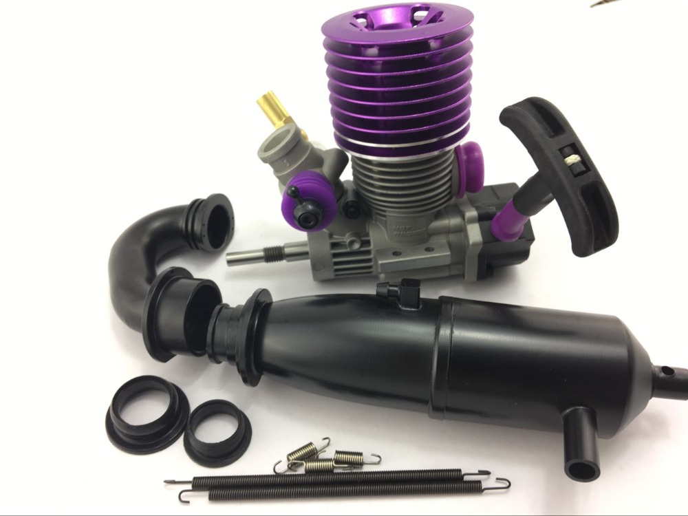 Hot Bodies 21 Nitro ENGINE 3.5 Rear Side Motor For  1/10 Scale RC Cars HPI  Kyosho compatible with GO18 RC Car Engine girl
