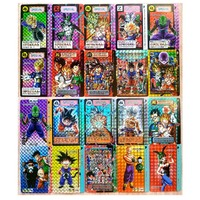 43pcs Dragon Ball Super Ultra Instinct Goku Jiren Action Toy Figures Commemorative Edition Game Flash card Collection Cards