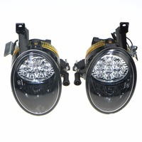 1Pair Of Front Lower Clean LED Fog Light Lamp Fit For VW Jetta Golf MK6 Plus