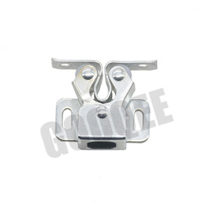 Image 4 - 1PCS Door Stop Closer Stoppers Damper Buffer Magnet Cabinet Catches With Screws For Wardrobe Hardware Furniture Fittings