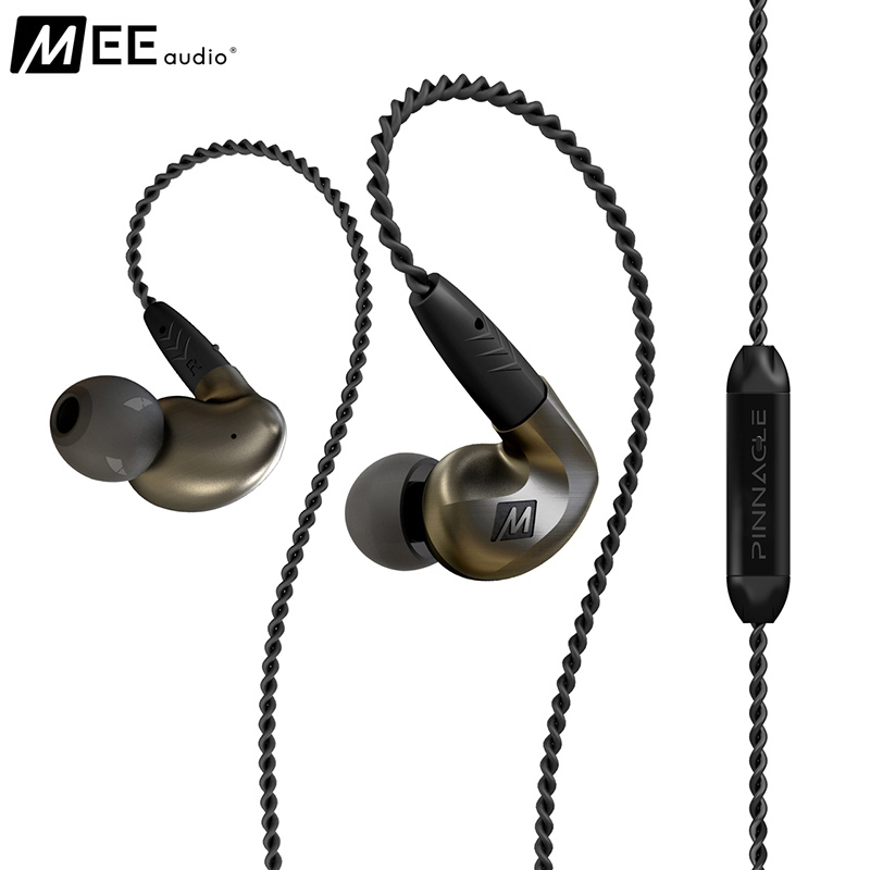 MEE Audio Pinnacle P1 Earphone Audiophile High Fidelity In Ear Earphones Monitors Headset With Detachable Cables IEMs Earbud high quality wired sports running earphone mee audio m6 pro hifi in ear monitors with detachable cables also have se215