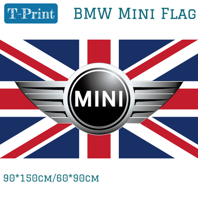 Cm Cm Mini Flag For Car Show Polyster BMW Mini Banner For - Car show banners