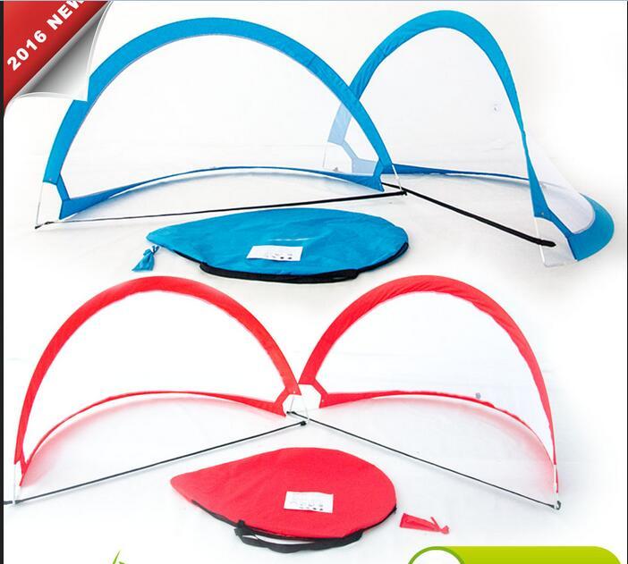 183x101 cm 210D Oxford tissu Portable but de soccer net Pliage porte de football Ventilateurs fournitures