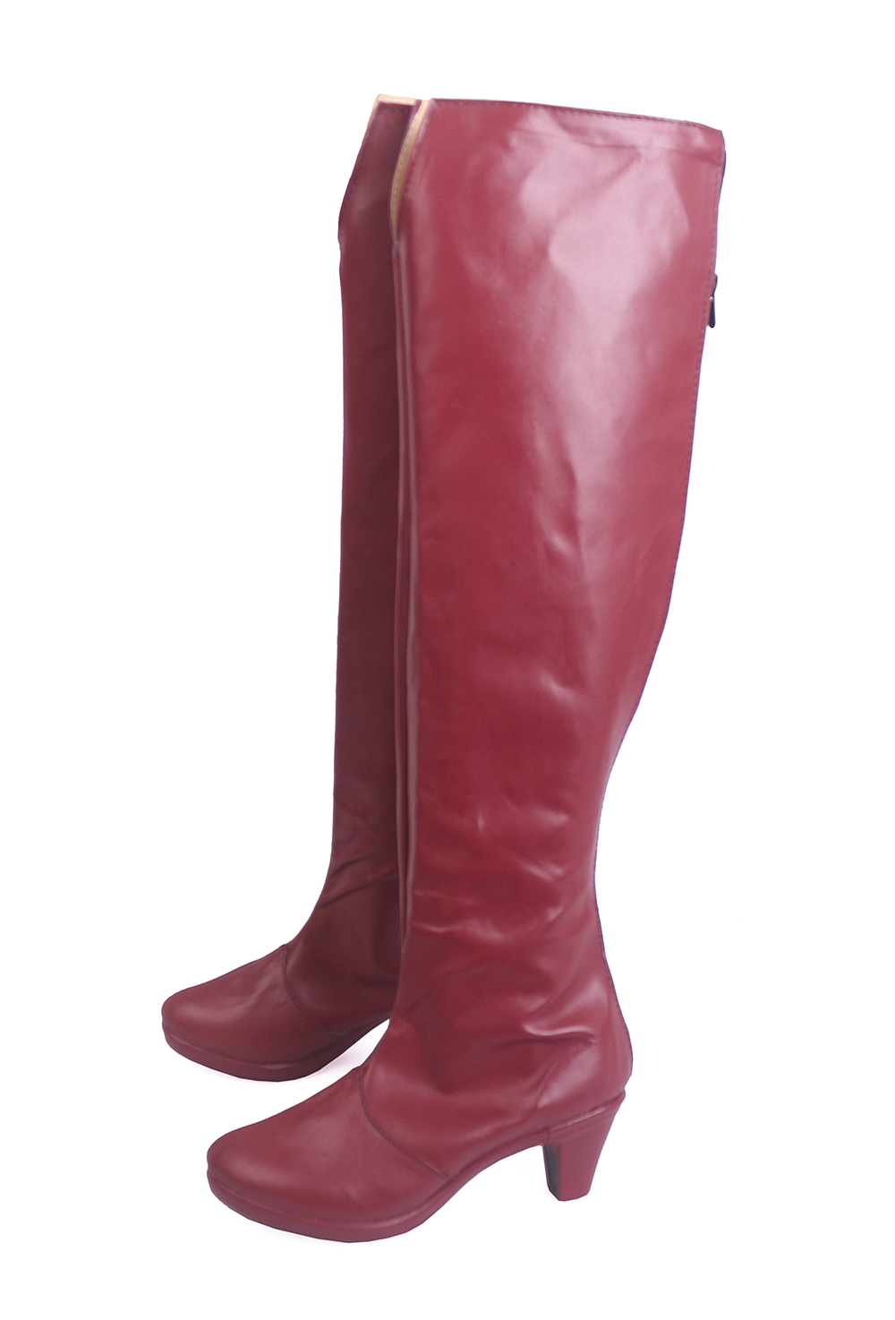 Black Clover Quartet Knights Vanessa Enoteca Cosplay Boots Red Shoes (3)