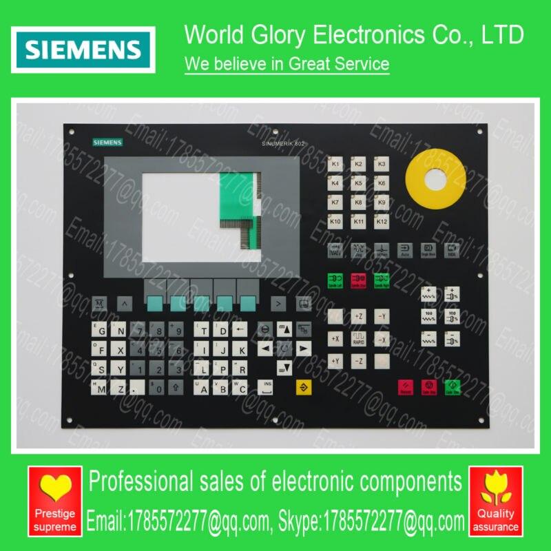 New 802SE 6FC5501-0AB00-0AA0 6FC5 501-0AB00-0AA0 Membrane Keypad cкамья для пресса se 9108 ab king