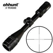Ohhunt 4×32 3-9×40 4-16×40 6-24×50 Airsofts прицел не ночного видения высококачественный Mil Dot тактика оптический прицел прозрачные линзы