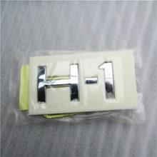 Emblema auténtico del logotipo de la puerta trasera del maletero trasero para HYUNDAI i800 H1 iMax 07 ~ 15 insignia del logotipo de la tapa del maletero trasero