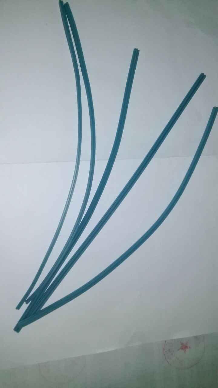5 stücke Gummikabel für lötkolben T-tip, Pixel Ersetzen werkzeug, Heißer streifen, LCD kabel für reparatur 24 cm
