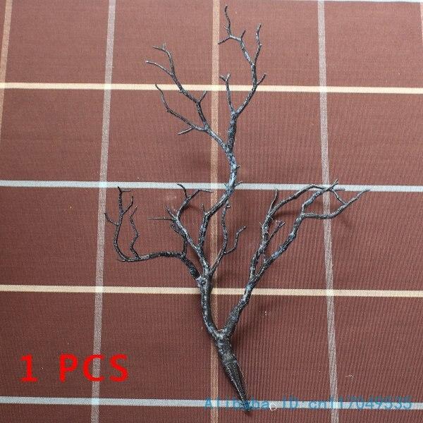 1 шт. Красивая Искусственная маленькая пластиковая высушенная ветка растение домашнее свадебное украшение F220 - Цвет: dark blue