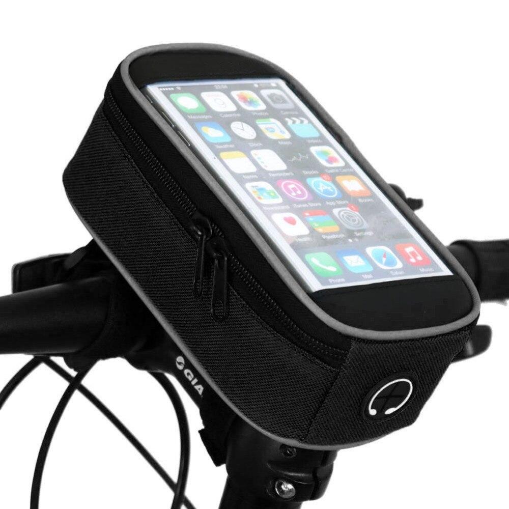 5.5inch <font><b>Phone</b></font> Case For Iphone 6 6s 7 plus MTB Front Bicycle <font><b>Bag</b></font> Mountain Road Bike Touchscreen Saddle <font><b>Bag</b></font> <font><b>Cycling</b></font> Panniers pouch