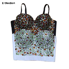 New Luxe Chic Shine Diamonds Heavy Workmanship Party Celebrity Tube Strapless party tops DR860