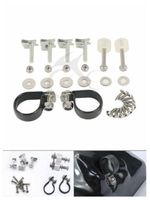 TCMT Lower Vented Fairing Mounting Kit Bolts Screw Set For Harley Road King Street Glide Ultra Limited CVO FLHX Softail