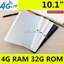"4 г LTE T900 1920×1200 Android 7.0 Tablet PC Tab 10.1 дюймов IPS Octa core 4 ГБ + 32 ГБ 64 ГБ Dual Sim карта телефонный звонок 10.1 ""Phablet"