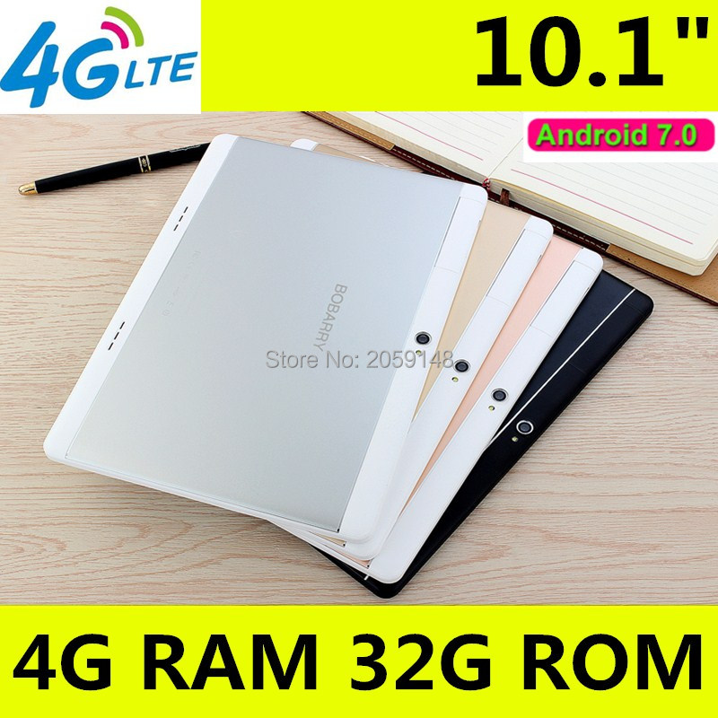 4G LTE T900 1920x1200 Android 7.0 Tablet PC Tab 10.1 Inch IPS Octa Core 4GB + 32GB 64GB Dual SIM Card Phone Call 10.1 Phablet