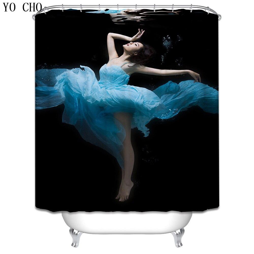 Weihnachten Sexy Duschvorhang lustige bad vorhang polyester Stoff 3d ...