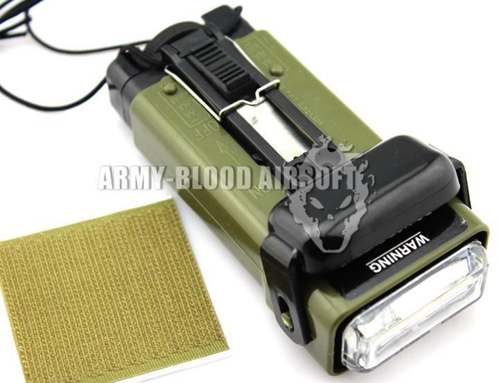U.S. MS-2000 version of Survival Flashlight  light function