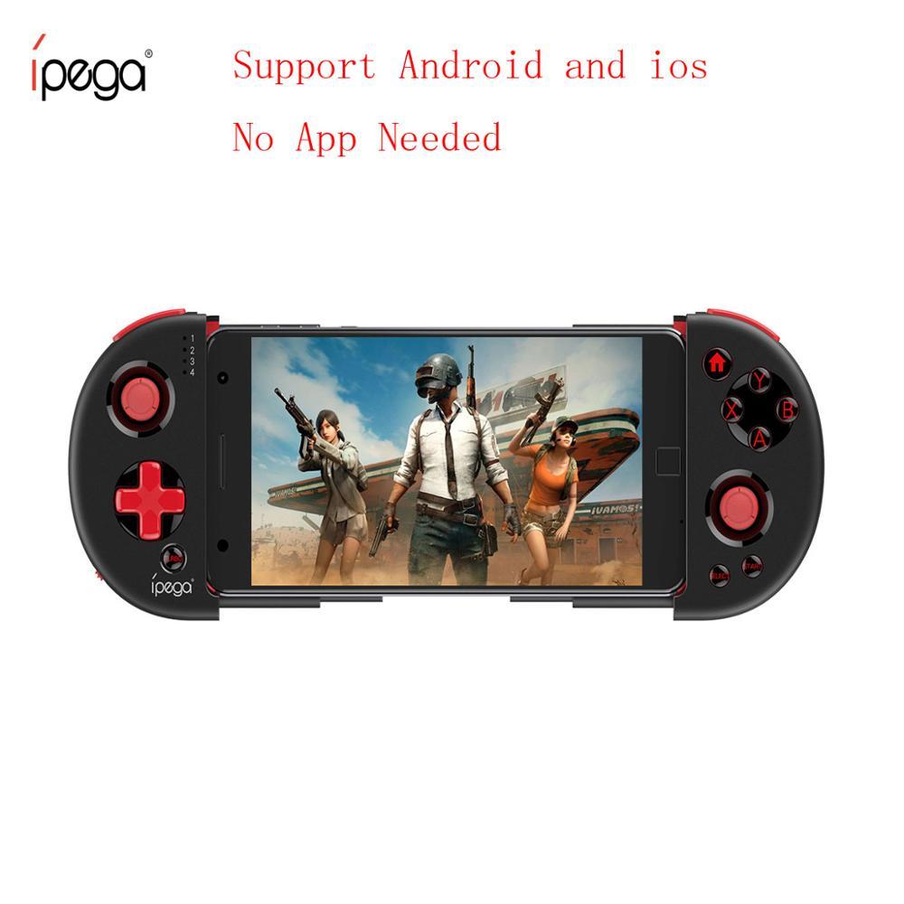 Ipega 9087 s joystick para telefone gamepad android controlador de jogo bluetooth extensível joystick para ios tablet pc android caixa de tv